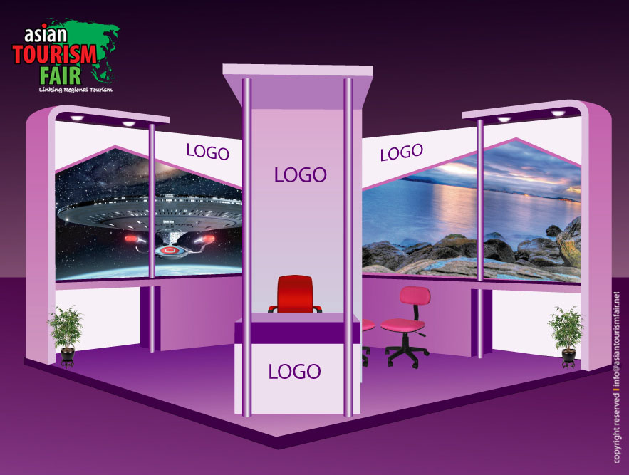 Exhibition Stall Booking Form : Logistics asian tourism fair